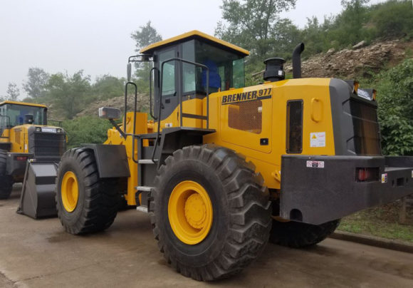 Brenner 977 Wheel Loader