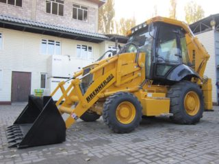 Brenner 983 Backhoe Loader