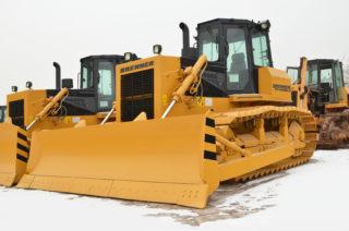 Brenner BTYS165-3 Crawler Bulldozer