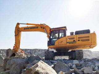 Brenner BE370LC-9 Crawler Excavator