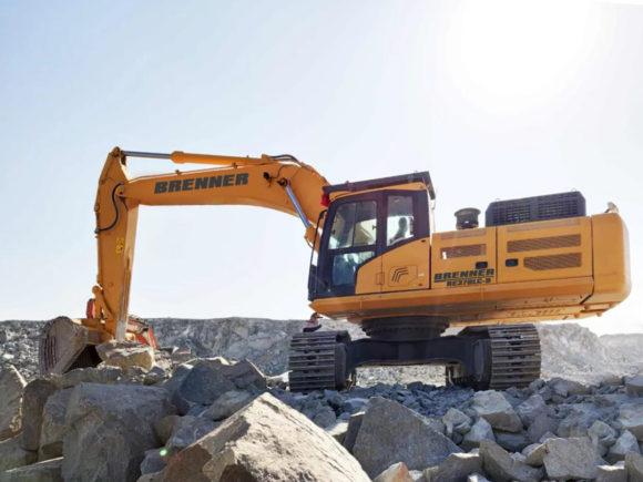 Brenner BE370LC-9 Crawler Excavator