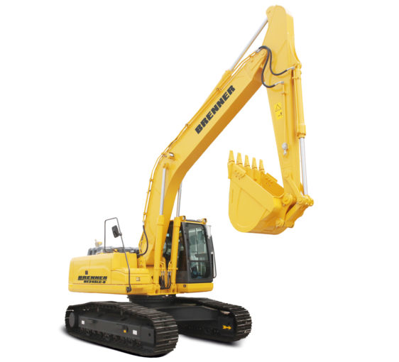 Brenner BE245LC-9 Crawler Excavator