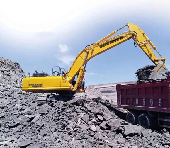 Brenner BE470LC-9 Crawler Excavator