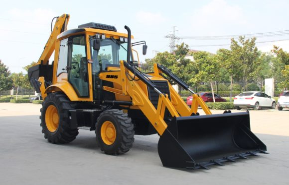 Brenner 985 Backhoe Loader